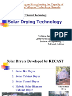 Solar Drying Technology