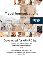 Travel Immunization