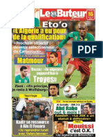 LE BUTEUR PDF du 16/07/2010