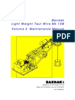 Light Weight Taut Wire Mk 15B Operation and Maintenance Manual