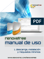 Manual Renovefre v4 Descarga-Instalacion-requisitos-2016