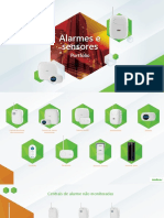 Catálogo Virtual Alarmes e Sensores