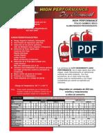 Extintor Portatil High Performance