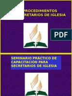 ProcedimientosSecretarios Robert Hernandez