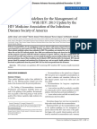 Primary Care Guidelines for the Management of Persons Infected With HIV