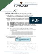 7º y 8º - Guía de Estudio - Ortografía y Gramática