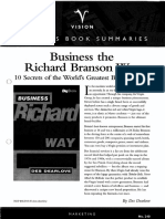 Marketing Branding - Business the Richard Branson Way - D Dearlove (Vision Business Books Summaries) - 1998(0)