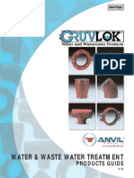 Gruvlok Water-Wastewater Products