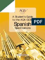 Aqa Vocab List (spanish)