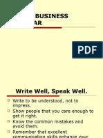 Business Grammar