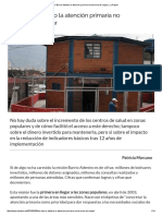 En Barrio Adentro La Atención Primaria No Termina de Cuajar _ La Razón