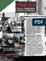 Gasto Público en Infraestructura de Transporte Colectivo y de Carga en Venezuela