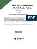 A Hybrid GA to Solve the Multidepot VRP