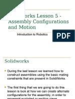 Robotics - Solidworks V
