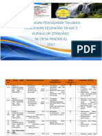 RPT Pendidikan Kesihatan 5 2017