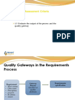 1.3Quality Gateways & Business Process Measures