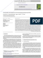 Sustainable Development of the Kamojang Geothermal Field