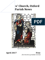 April 2017 Parish News