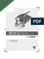 Bosch GEX 125 1A