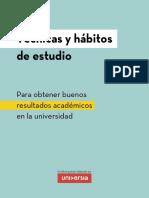 Tecnicas Habitos Estudio Universidad