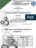 INSTRUMENTACON - INDICADORES