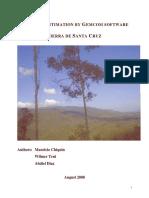 Resource Estimation Sierra Santa Cruz