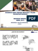 4. Reunion Grupal Abril 2013 - Guardas Para Partes Moviles y Fajas Transportadoras