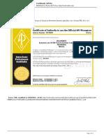 Walworth Valves - Certificado API-6a - 2014-10-20