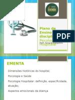 Plano de Ensino Psicologia Hospitalar