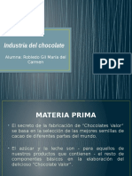 Industria Del Chocolate.
