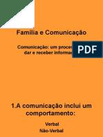 Família e Comunicação