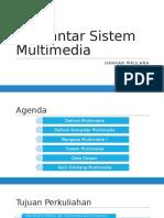 Pengantar Sistem Multimedia