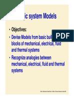 Mechanical System Model