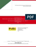 Montecino 2003 - Calidad de Vida y Tpe Público