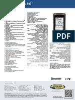 GNSS COLECTORA T41