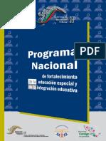 Programa de Fortalecimiento a La EE