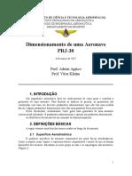 Parâmetros Geometricos e Dimensionamento.doc
