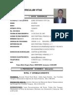 Curriculum Vitae Jaime Carta Actualizado 2017