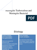 Meningitis Teuberculous and Meningitis Bacterial