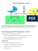 CCNA Security 2.0 PT Practice SA - Part 1