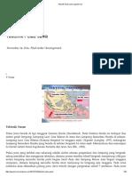 Tektonik Pulau Jawa _ Geoenviron