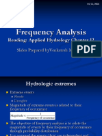 Extreme Value in hydrology