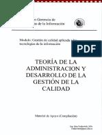 Teoria de La Administracion y Desarrollo de La Gestion de La