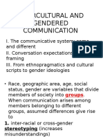 2_intercultural and Gendered Communication
