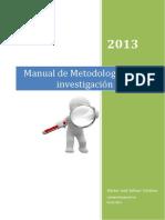 Manual de Metodologia de Investigacion