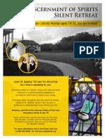 FSCC-Cistercian Retreat Flyer