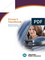 Driver's Handbook - Manitoba