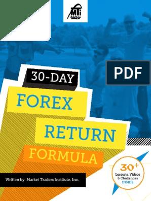 Free forex course pdf