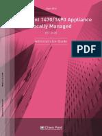 CP R77.20.20 1470 1490 ApplianceLocal AdminGuide