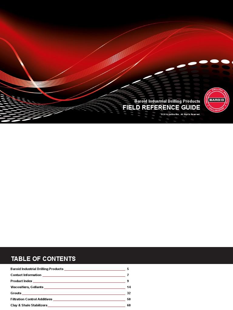 aditivos pdf | Sodium Carbonate | Casing (Borehole)